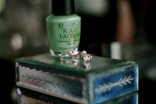 Wednesday: Nailpolish for St Patrick