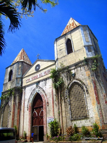 Nuestra Senora Del Pilar Church in Sibunga