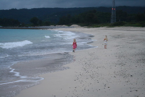 Evening Stormy Shore Cate & Meg