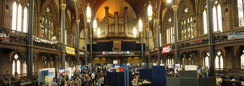 Freshers' Fair in Bute Hall