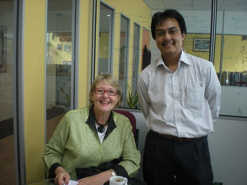 With Prof. Jane Knight