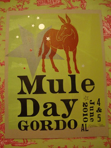 Mule Day Poster, Gordo Al