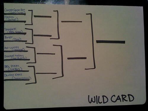 Barbecue Brackets: Wild Card