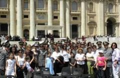 Roma: la Guardia di Finanza etnea in udienza dal Papa