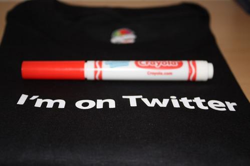 I am on twitter