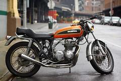 The Retro Honda Motorcycle