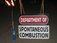 Dept of Spontaneous Combustion