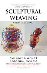 Sculptural Weaving poster