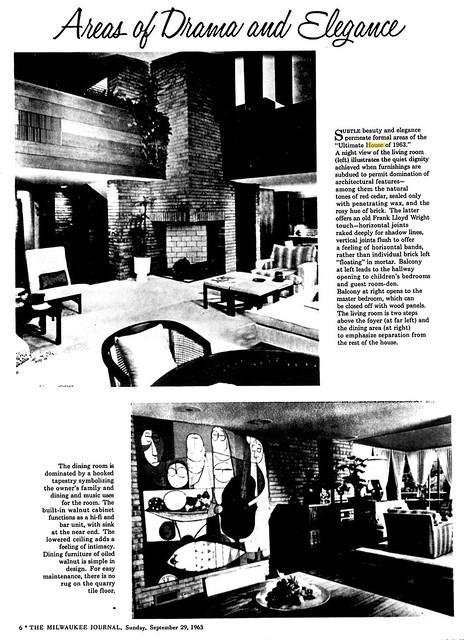 Milwaukee Journal - Ultimate House - 1963 (4 of 11)