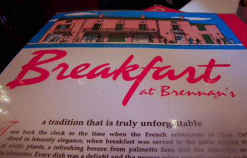 Breakfast at Brennan's