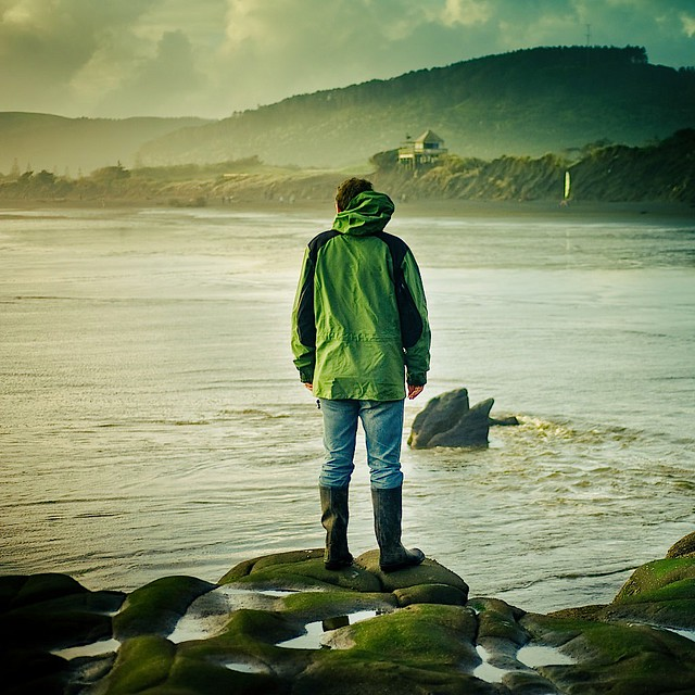 beautiful unusual Landscape candid sea portrait photography