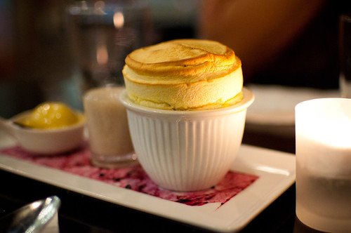 Passionfruit Souffle at Baroque