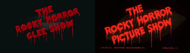 The Rocky Horror Picture Show & Glee