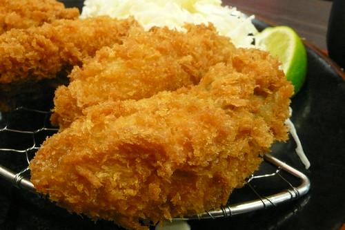 福勝亭-酥炸大牡蠣定食