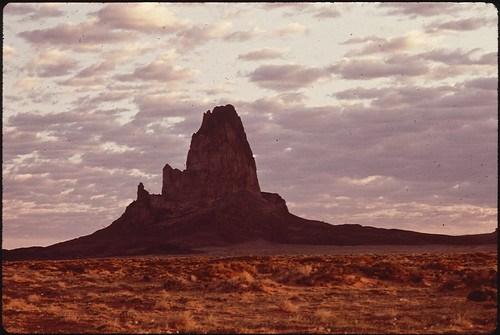 Church Rock At Sunrise