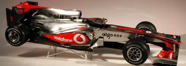 McLaren-Mercedes MP4-25