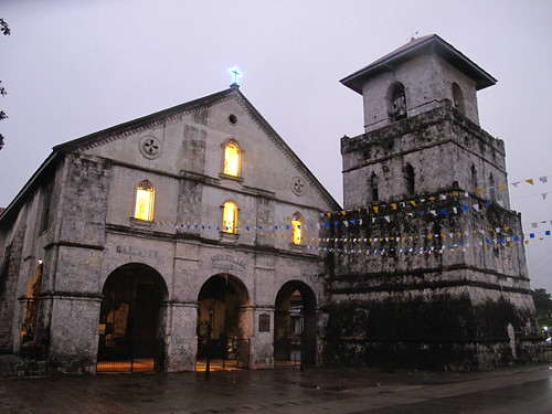 The Church of Our Lady of the Immaculate Conception, Baclayon, the oldest church in the Philippines, on Bohol island