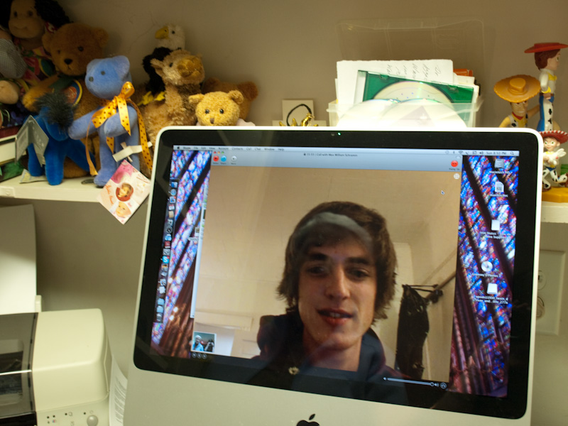 Skyping with Max