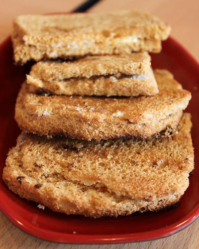 Butter Sugar Toast at Ya Kun Kaya Toast