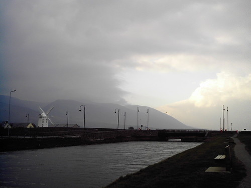 Tralee ship canal and Blennerville windmill