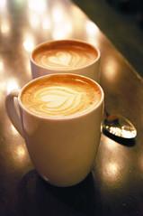 Cafe Mocha & Vanilla Latte