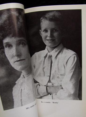 """J. R. Ackerley, Mio padre e io, Adelphi 1981, ill. b/n fuori testo: n. 5-6: """"Mia madre negli anni Venti""""; """"Io a scuola: 'Bimba'"""", (part.)"""