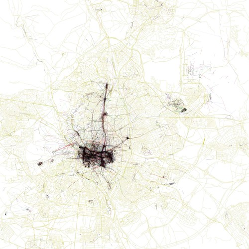 The Geotaggers' World Atlas #15: Madrid (by Eric Fischer)
