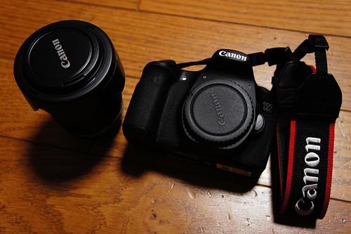 Canon EOS 60D 出した