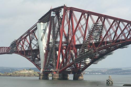 20090919 Edinburgh 10 South Queensferry 31 Forth Railway Bridge