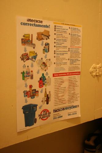 Tucson's Recyclable Blue Bin Program