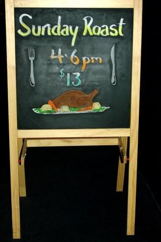 Sunday Roast $13 at 4-6pm at Warilla Hotel