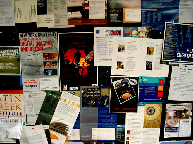 UF Turlington English Department Graduate Bulletin Board