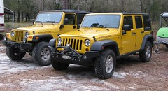 Two Jeeps