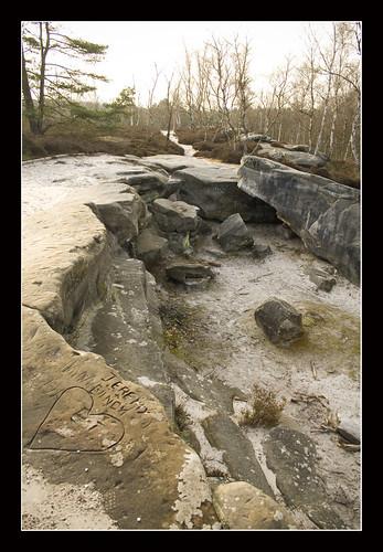 La pierre glissoire