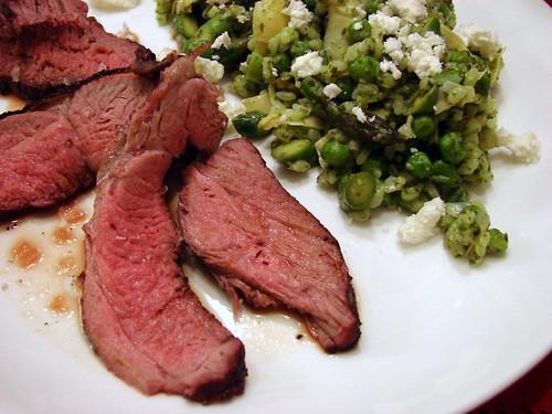 Dinner: April 4, 2010