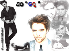Wallpaper:  [1024 x 768]  Robert Pattinson is So GQ!