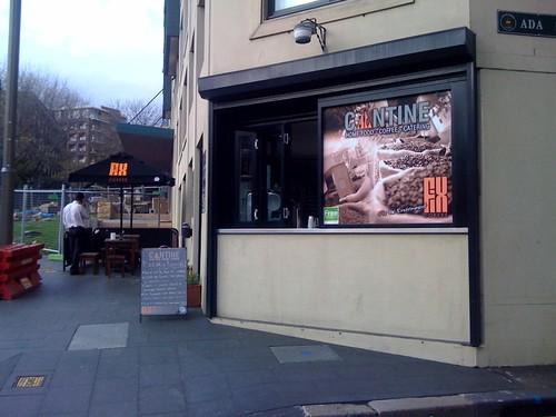 Cantine espresso, Pyrmont