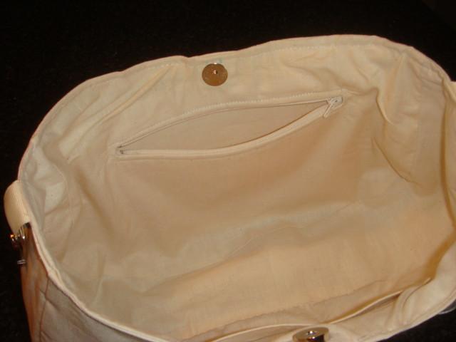 Chameleon Bag Zipper Pocket