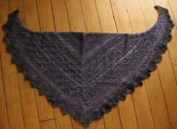 Laminaria shawl: knitting