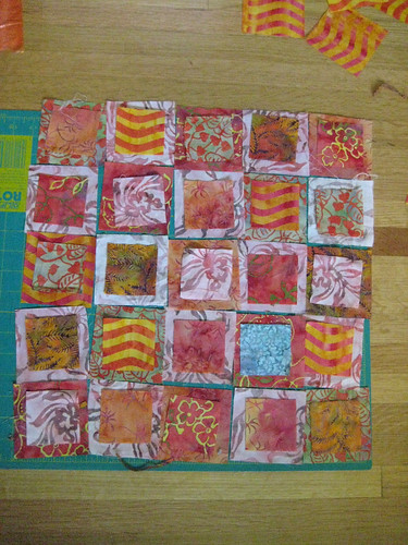 layout for swap quilt