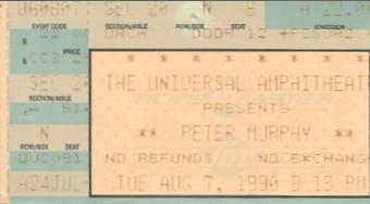 Peter Murphy, Universal A.