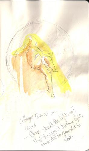 Burlesque Sketch 09a