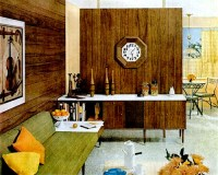 Mid-Century Living: Living Rooms (1960-65)