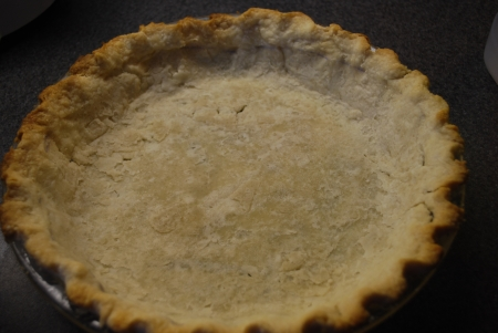 Butterscotch pie crust