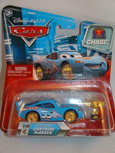 Disney CARS Lenticular Chase Bling Bling McQueen (2)