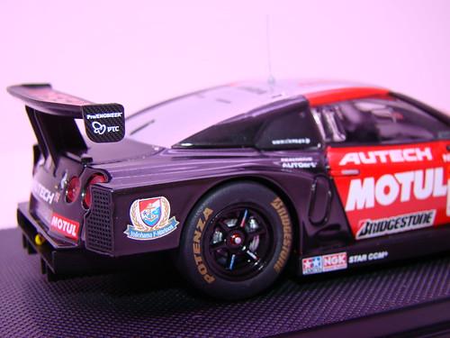 EBBRO MOTUL AUTECH GT-R SUPER GT 2009 OKAYAMA TEST (7)