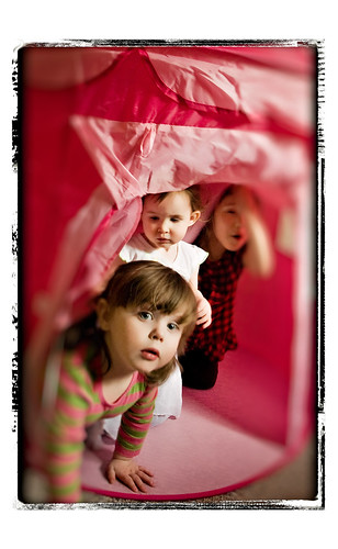 Girls Tent Birthday