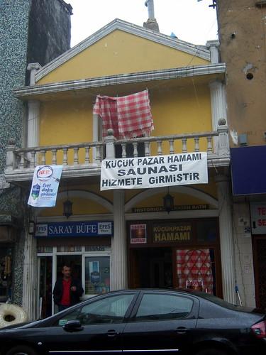 Local hamam in Fatih