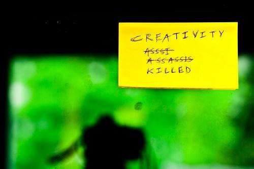 Creativity Killed