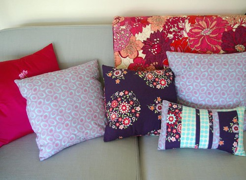 New cushion covers - front